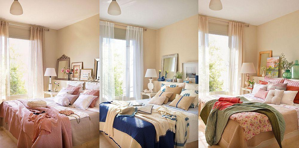 adelaparvu.com acelasi dormitor trei variante de decor, Foto ElMueble (1)
