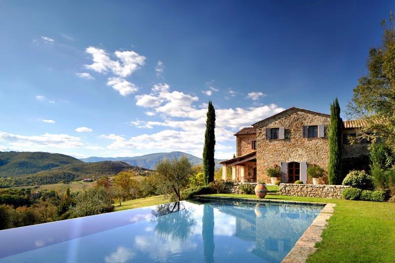 adelaparvu.com despre Casa del Leone, Domeniul Castello di Reschio, design Benedikt Bolza (1)