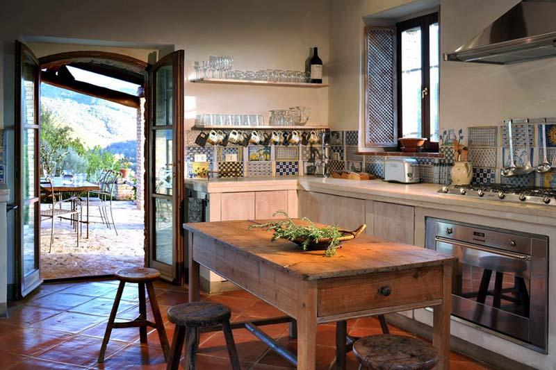 adelaparvu.com despre Casa del Leone, Domeniul Castello di Reschio, design Benedikt Bolza (9)