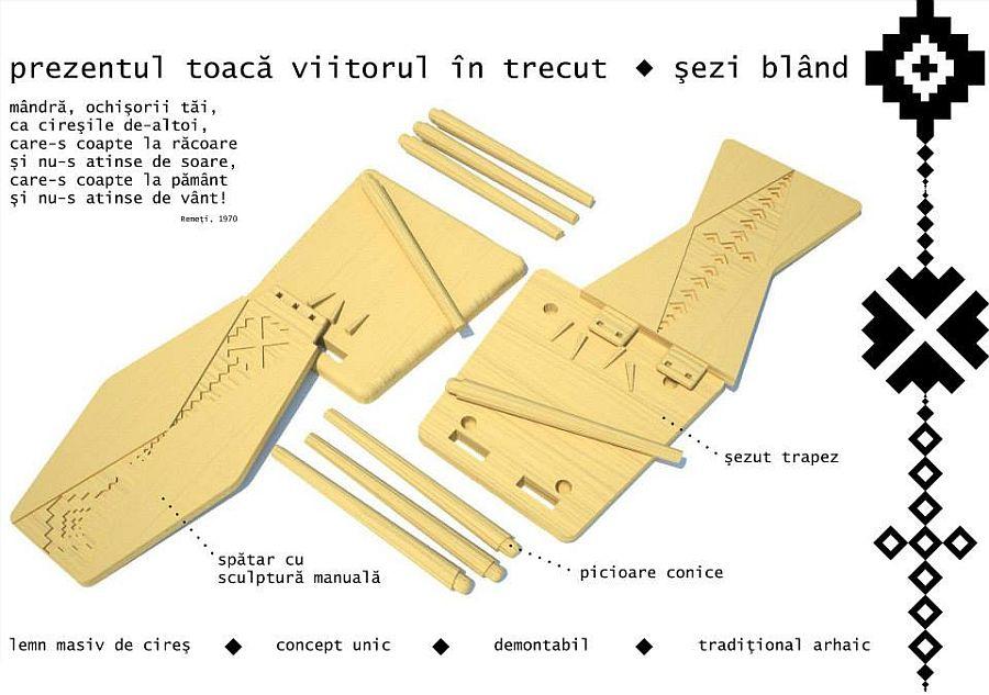 adelaparvu.com despre SEZI, scaune din lemn masiv, design Octavia Casoni si Lucian Lois (6)