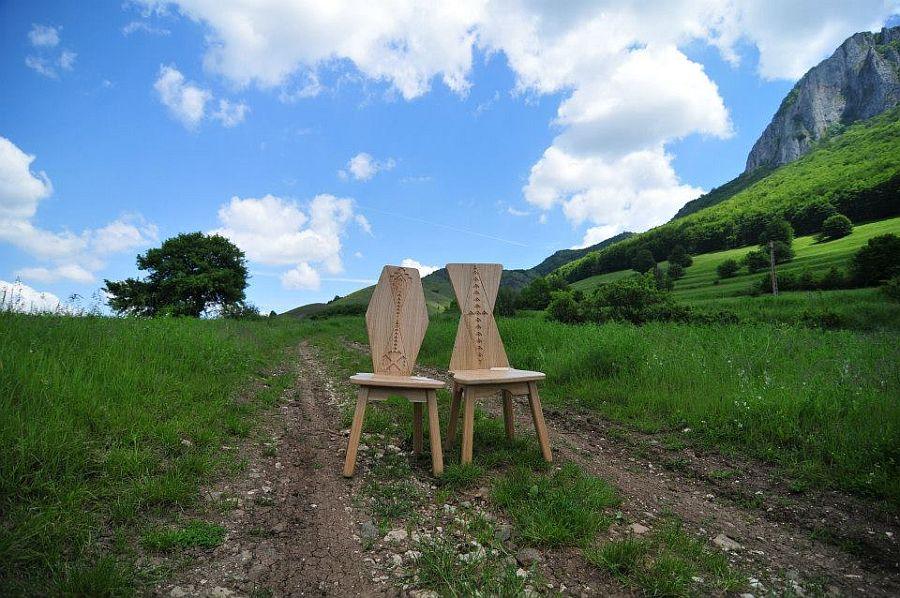 adelaparvu.com despre SEZI, scaune din lemn masiv, design Octavia Casoni si Lucian Lois (8)