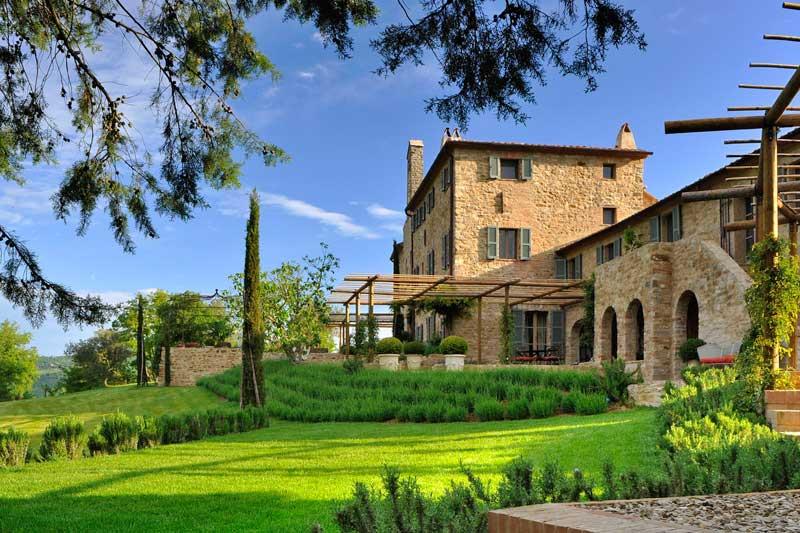 adelaparvu.com despre Vila SanPaolo, Domeniul Castello di Reschio, design Benedikt Bolza (4)