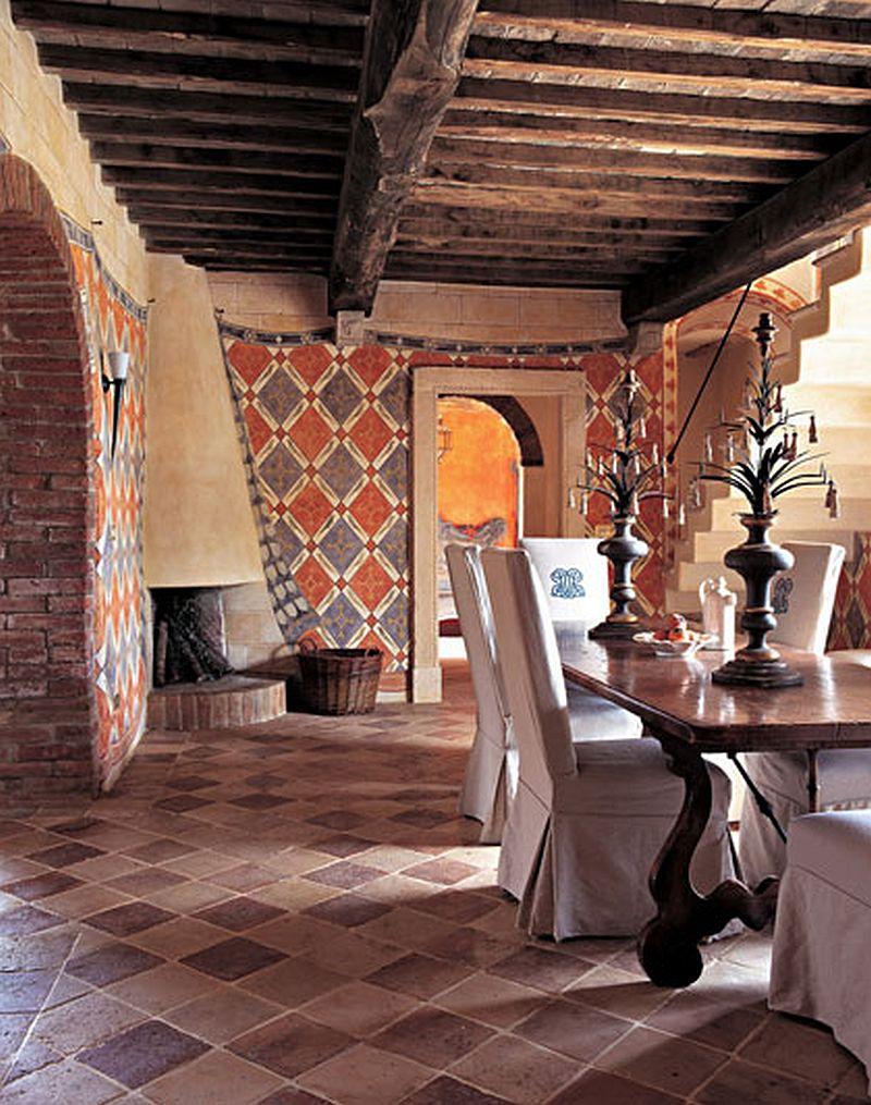 adelaparvu.com despre Villa Belvedere, domeniul Castello di Reschio, design Benedikt Bolza (11)
