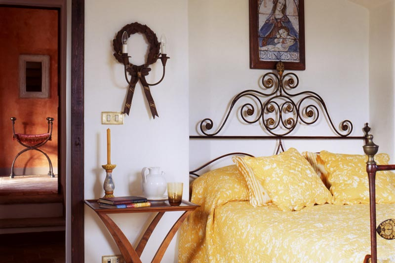 adelaparvu.com despre Villa Belvedere, domeniul Castello di Reschio, design Benedikt Bolza (17)