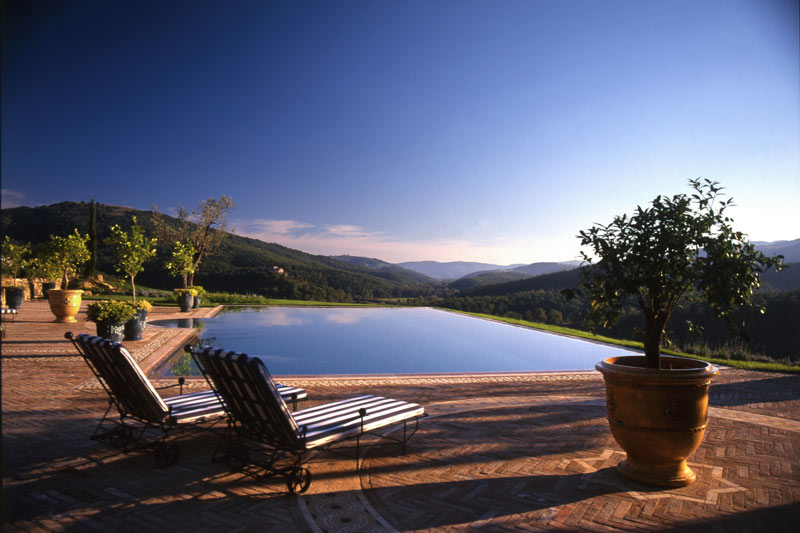 adelaparvu.com despre Villa Belvedere, domeniul Castello di Reschio, design Benedikt Bolza (2)