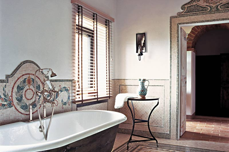 adelaparvu.com despre Villa Belvedere, domeniul Castello di Reschio, design Benedikt Bolza (20)