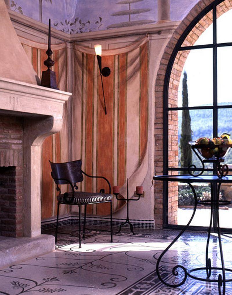 adelaparvu.com despre Villa Belvedere, domeniul Castello di Reschio, design Benedikt Bolza (24)