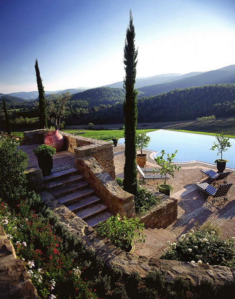 adelaparvu.com despre Villa Belvedere, domeniul Castello di Reschio, design Benedikt Bolza (3)