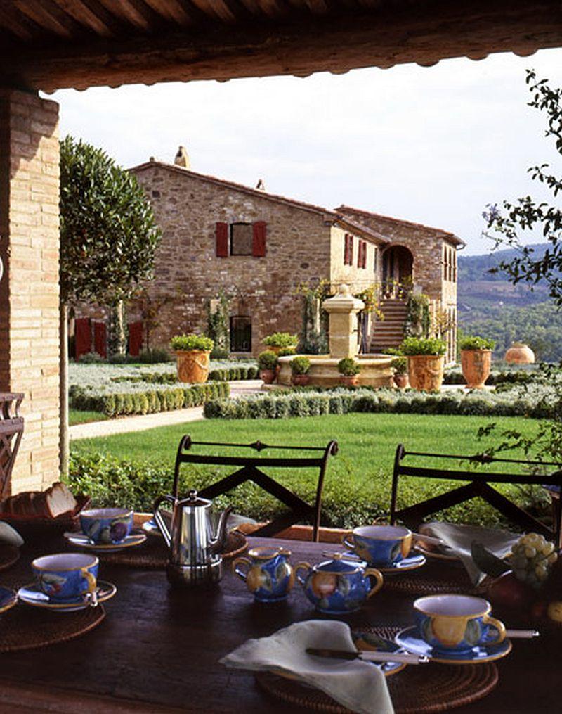 adelaparvu.com despre Villa Belvedere, domeniul Castello di Reschio, design Benedikt Bolza (4)