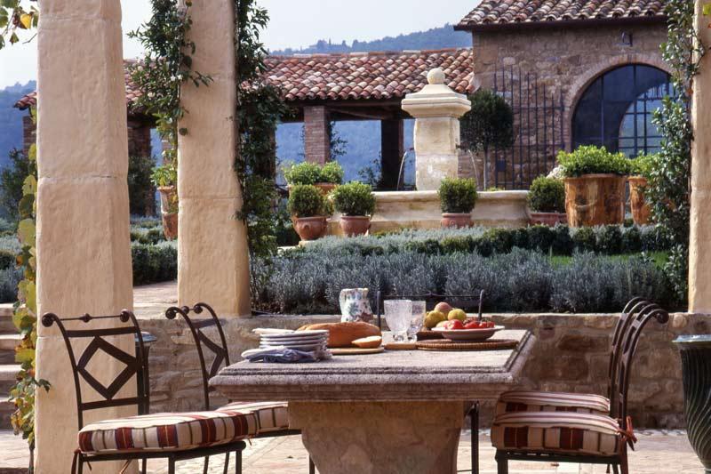 adelaparvu.com despre Villa Belvedere, domeniul Castello di Reschio, design Benedikt Bolza (5)