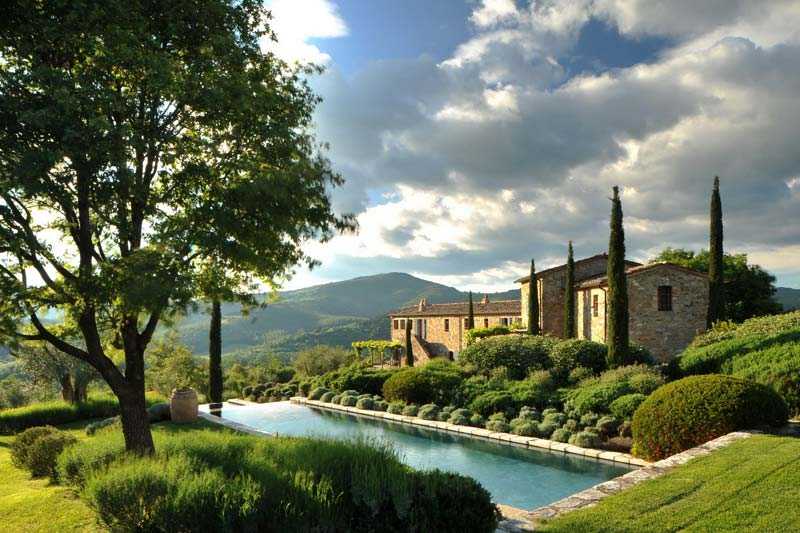 adelaparvu.com despre Villa Noci, domeniul Castello di Reschio, design Benedikt Bolza (1)