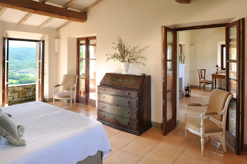 adelaparvu.com despre Villa Noci, domeniul Castello di Reschio, design Benedikt Bolza (12)