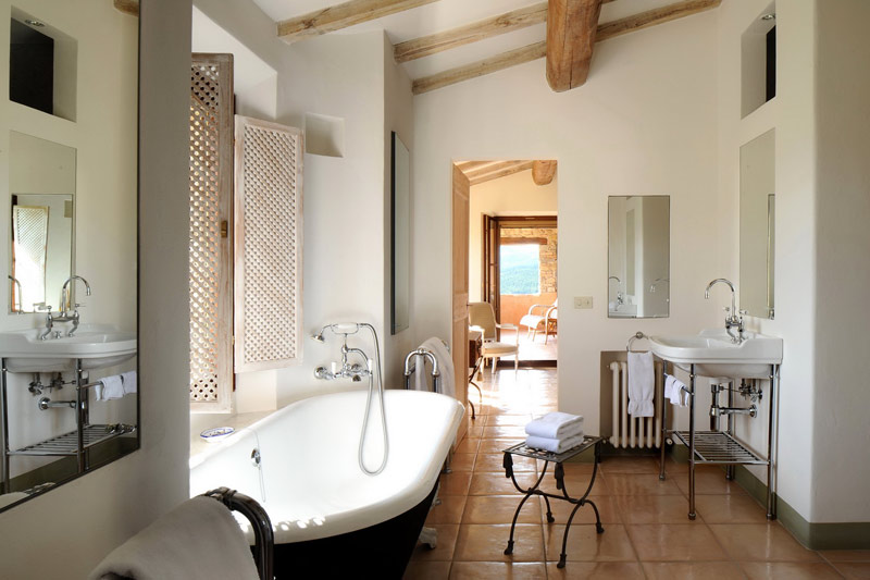 adelaparvu.com despre Villa Noci, domeniul Castello di Reschio, design Benedikt Bolza (13)