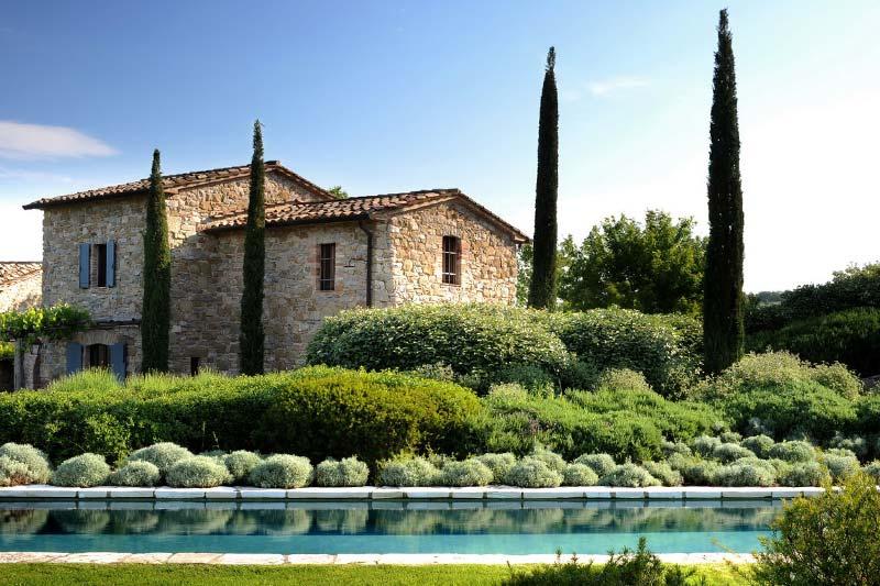adelaparvu.com despre Villa Noci, domeniul Castello di Reschio, design Benedikt Bolza (2)