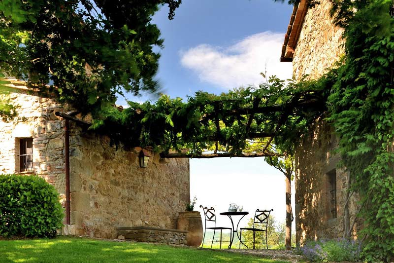 adelaparvu.com despre Villa Noci, domeniul Castello di Reschio, design Benedikt Bolza (3)