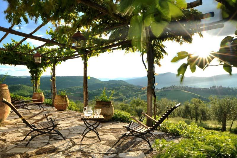 adelaparvu.com despre Villa Noci, domeniul Castello di Reschio, design Benedikt Bolza (4)