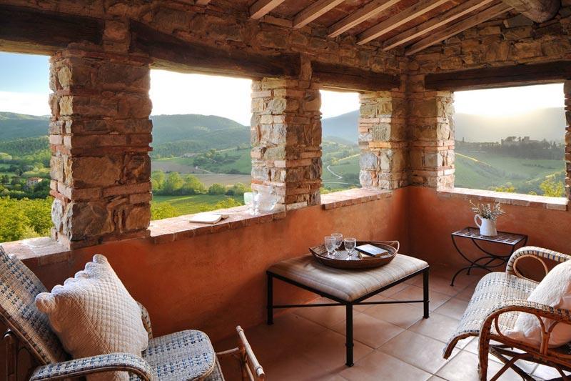 adelaparvu.com despre Villa Noci, domeniul Castello di Reschio, design Benedikt Bolza (5)