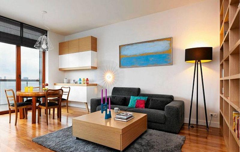 adelaparvu.com despre amenajare apartament de 3 camere, designer Agnieszka Cholewa, Desi Studio, Foto Radoslaw Wojnar(2)