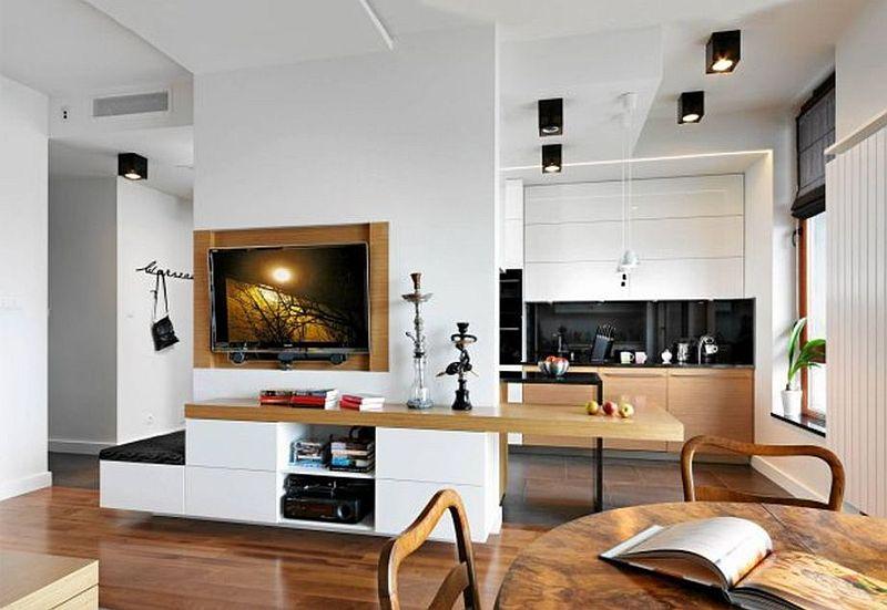 adelaparvu.com despre amenajare apartament de 3 camere, designer Agnieszka Cholewa, Desi Studio, Foto Radoslaw Wojnar(4)