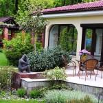 adelaparvu.com despre amenajare gradina Padurea Baneasa, arhitect Sorin Ciorapciu, Babylon Garden