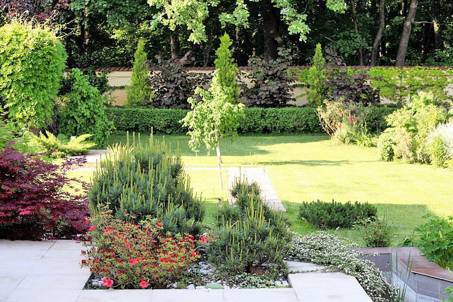 adelaparvu.com despre amenajare gradina Padurea Baneasa, arhitect Sorin Ciorapciu, Babylon Garden (2)