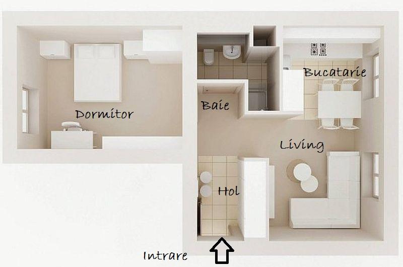 adelaparvu.com despre apartament 2 camere 48 mp cu reproduceri dupa Klimt, design Pink Pug Design, Polonia (4)