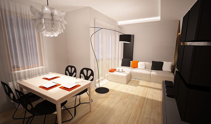 adelaparvu.com despre apartament 3 camere de 60 mp, designer Alexandra Strawaba, Foto Monika Filipiuk (1)