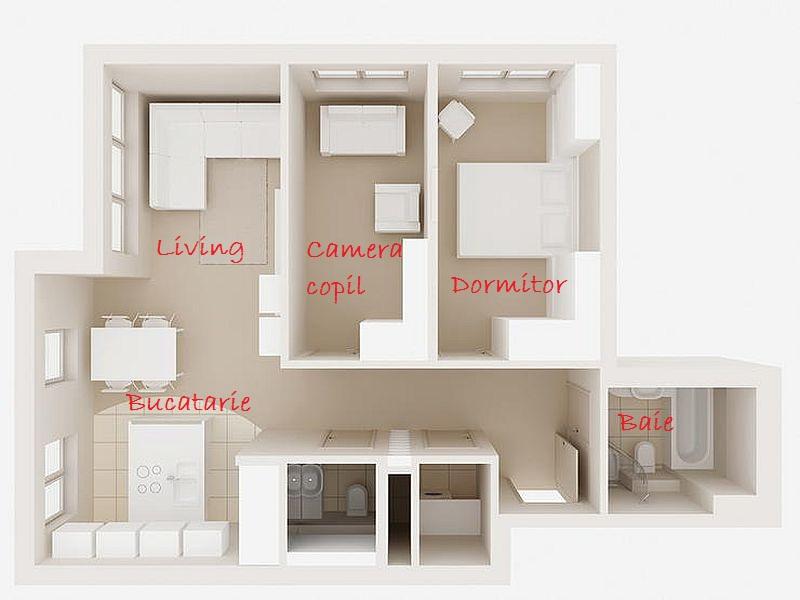 adelaparvu.com despre apartament 3 camere de 60 mp, designer Alexandra Strawaba, Foto Monika Filipiuk (4)