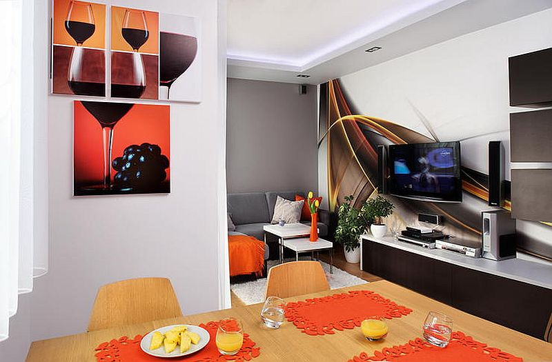 adelaparvu.com despre apartament 3 camere de 60 mp, designer Alexandra Strawaba, Foto Monika Filipiuk (9)