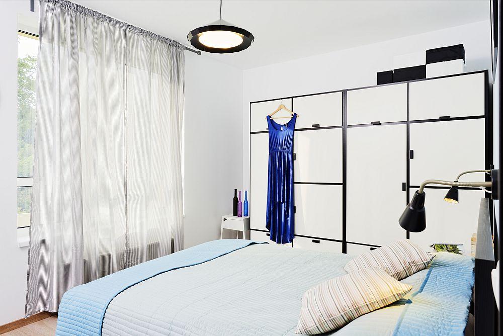 adelaparvu.com despre apartament cu usi interioare wenge, apartament 3 camere The Park (1)
