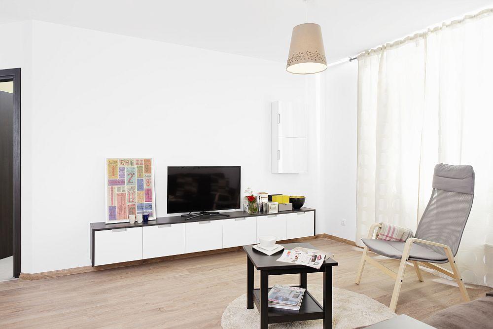 adelaparvu.com despre apartament cu usi interioare wenge, apartament 3 camere The Park (12)