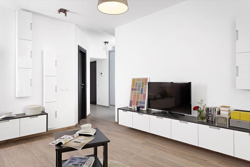 adelaparvu.com despre apartament cu usi interioare wenge, apartament 3 camere The Park (13)