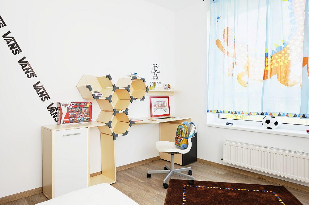 adelaparvu.com despre apartament cu usi interioare wenge, apartament 3 camere The Park (14)
