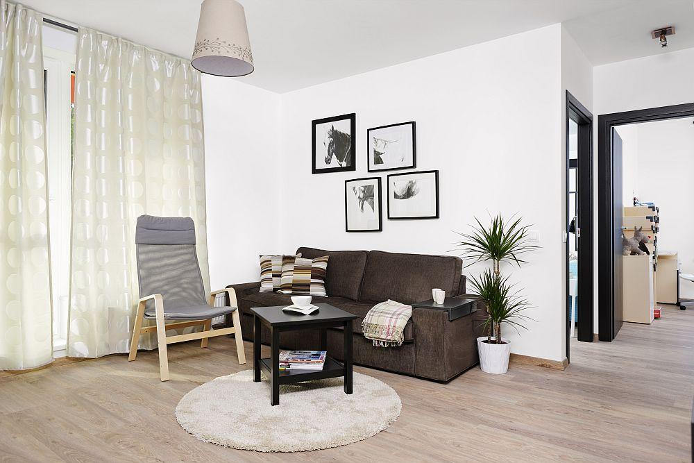 adelaparvu.com despre apartament cu usi interioare wenge, apartament 3 camere The Park (2)