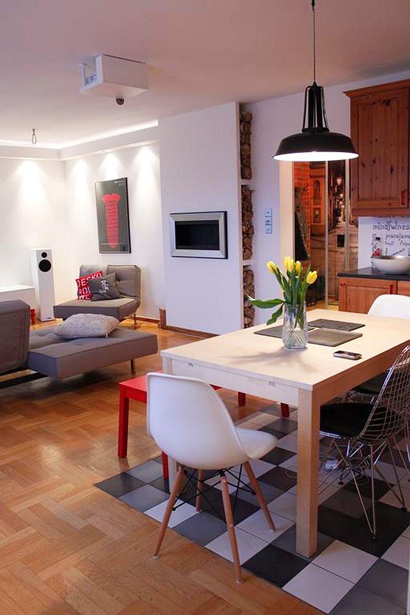 adelaparvu.com despre apartament  doua camere cu aer de ferma, designer Ula Kolodziejek Herman (14)