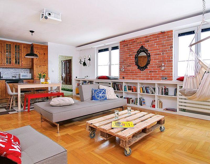adelaparvu.com despre apartament  doua camere cu aer de ferma, designer Ula Kolodziejek Herman (3)