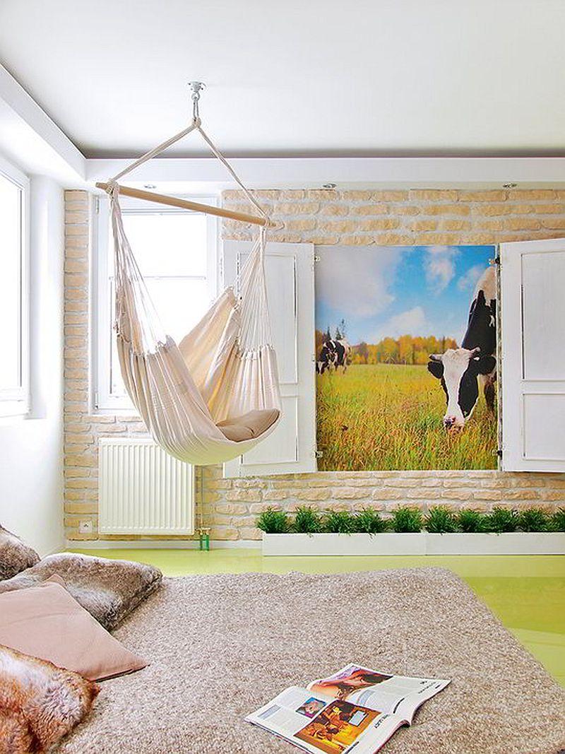 adelaparvu.com despre apartament  doua camere cu aer de ferma, designer Ula Kolodziejek Herman (4)