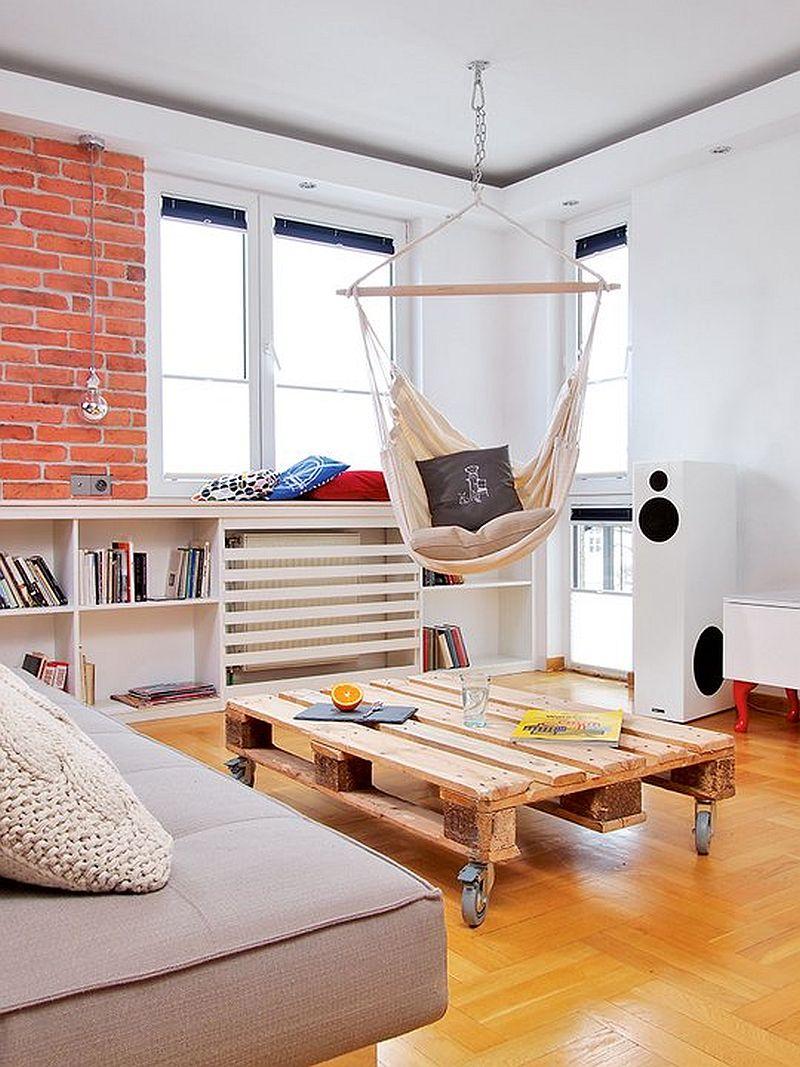 adelaparvu.com despre apartament  doua camere cu aer de ferma, designer Ula Kolodziejek Herman (7)