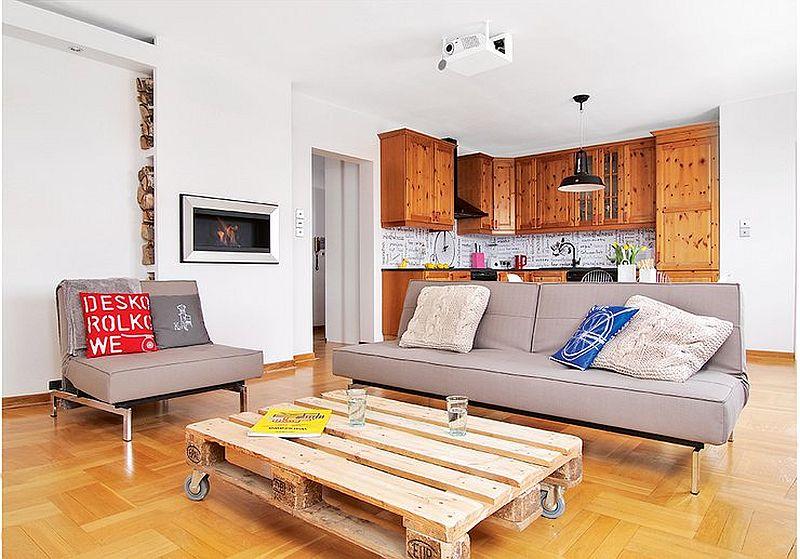 adelaparvu.com despre apartament  doua camere cu aer de ferma, designer Ula Kolodziejek Herman (8)