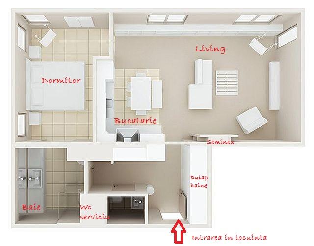 adelaparvu.com despre apartament  doua camere cu aer de ferma, designer Ula Kolodziejek Herman (9)
