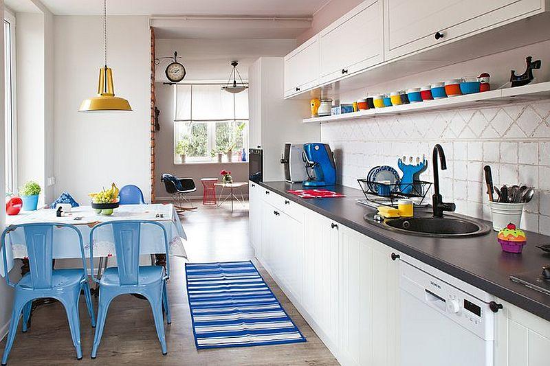 adelaparvu.com despre apartament in stil scandinav, decor in alb si albastru, Foto Mariusz Bykowski (10)