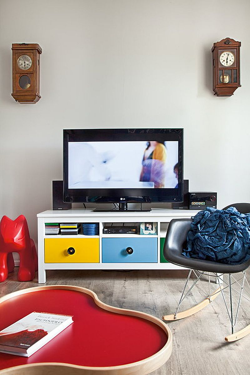 adelaparvu.com despre apartament in stil scandinav, decor in alb si albastru, Foto Mariusz Bykowski (2)