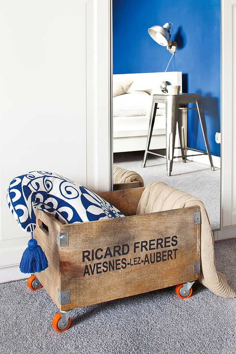 adelaparvu.com despre apartament in stil scandinav, decor in alb si albastru, Foto Mariusz Bykowski (4)