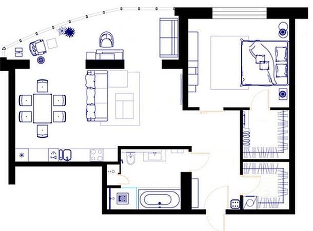 adelaparvu.com despre apartament modern cu motive africane, design Julia Kosova si Marina Korelskaya (11)