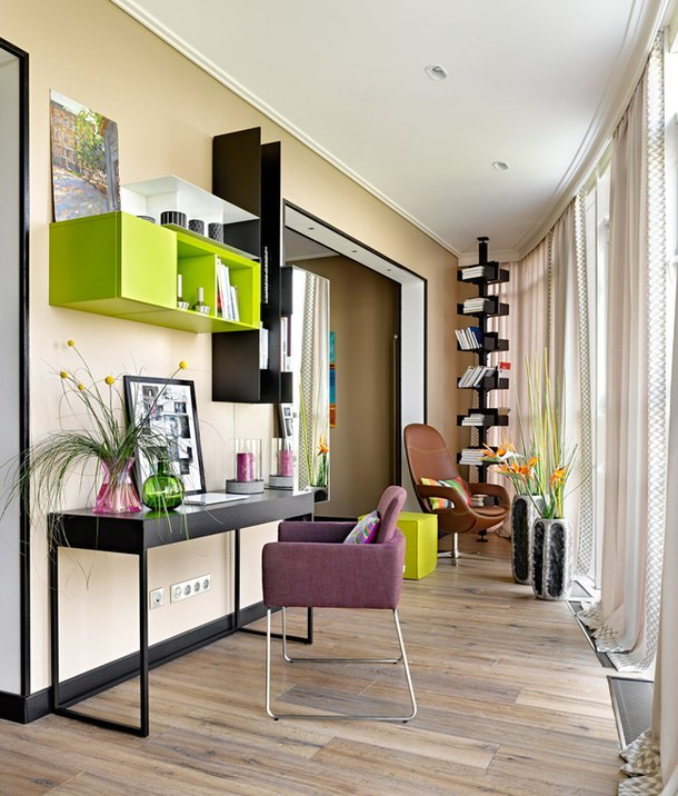 adelaparvu.com despre apartament modern cu motive africane, design Julia Kosova si Marina Korelskaya (2)