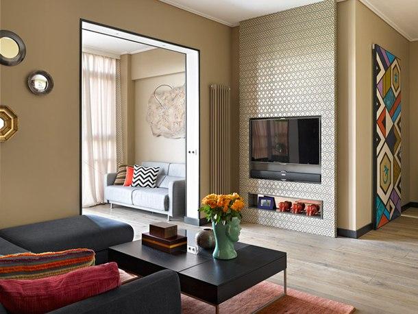 adelaparvu.com despre apartament modern cu motive africane, design Julia Kosova si Marina Korelskaya (3)
