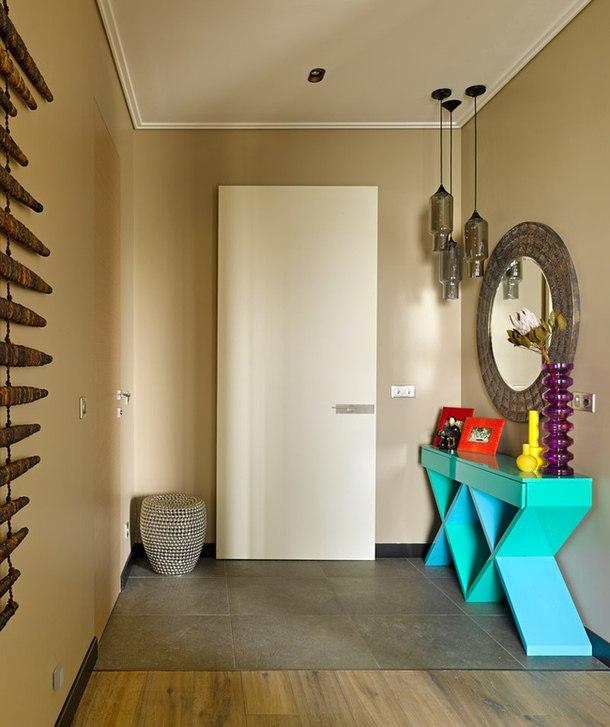 adelaparvu.com despre apartament modern cu motive africane, design Julia Kosova si Marina Korelskaya (5)