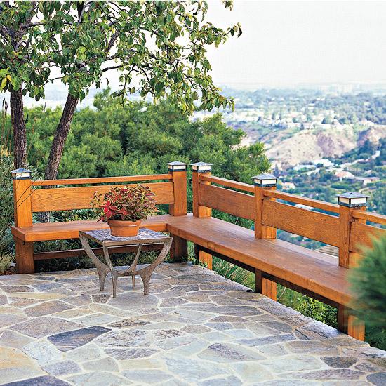 adelaparvu.com despre banci si constructii de lemn in gradina, Foto BHG 11