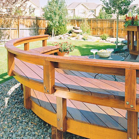 adelaparvu.com despre banci si constructii de lemn in gradina, Foto BHG 13
