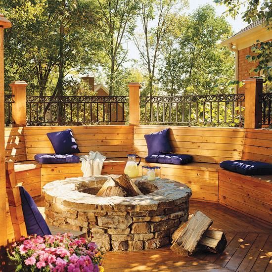 adelaparvu.com despre banci si constructii de lemn in gradina, Foto BHG 5